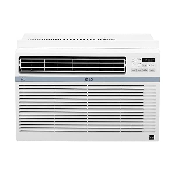 LG Energy Star 8,000 BTU 115V Window-Mounted Air Conditioner with Wi-Fi Control