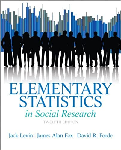 Elementary Statistics In Social Research 12th