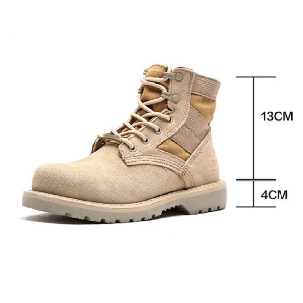 Hombre Botas Cuero Impermeable De Gamuza Las Las Las Botas Invierno Laine con Piel Caliente Los Zapatos Zapatos De Goma De Moda del Tobillo 39-47 ff9332
