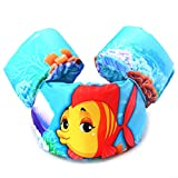 ZeHui Children's Life Jacket Baby Floating Water Vest Swimming Drift Life Vests with Cartoon Pattern Fish