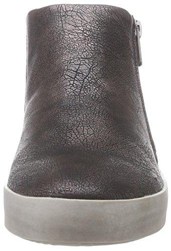 Dockers 36AI208 - Zapatillas de casa de material sintético mujer negro - Schwarz (schwarz/silber 155)