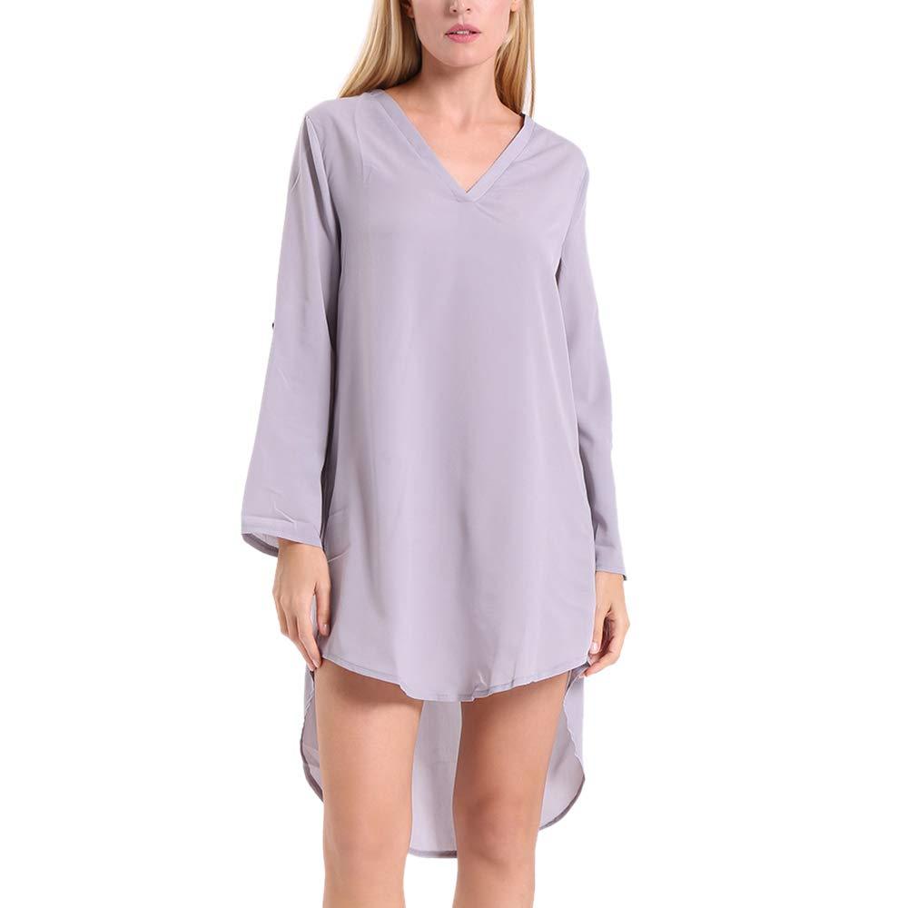 Short V-Neck Dress