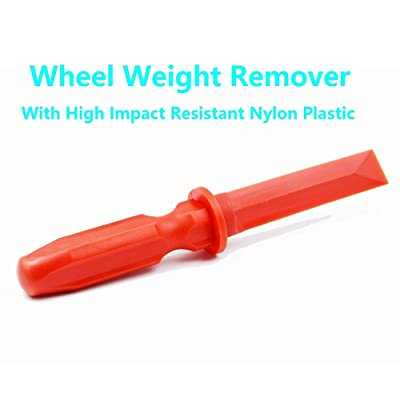 ACCRETION Wheel Weight Removal Tool Non-marring Plastic Scraper: Automotive