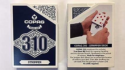 Amazon.com: MJM Copag 310 - Juego de cartas (azul): Toys & Games