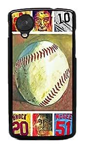 baseball sport??? Hard Case for Google Nexus 5 LG ( Flower Flowering Rose )