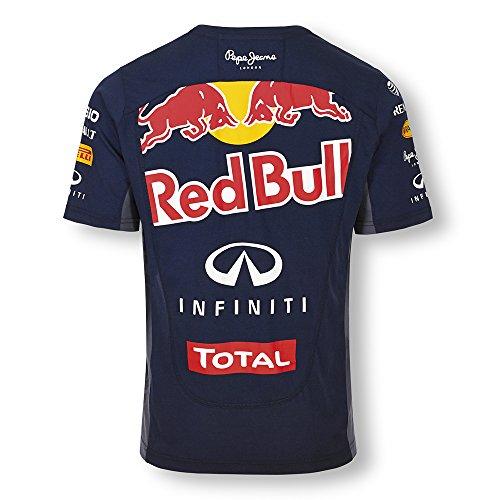 Red Bull Men's Infiniti Red Bull Racing 2015 Official Teamline T-Shirt X-Large