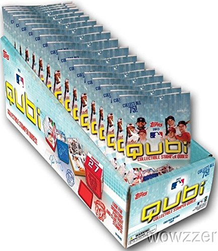 Mlb Signature Collectibles (2013 Topps QUBI MLB Baseball Factory Sealed 18 Pack Box ! Includes 18 Different Collectible Stamper Qubes! Collect Signature,Portrait and Club Logo Stamps! $54)