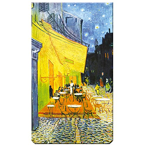 Caf/é de Nuit Marque-page magn/étique Multicolore Fridolin Van Gogh