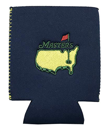 Authentic Masters Navy Blue Souvenir Can Coolers-Set of 2 (Masters Golf Hat Navy)