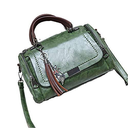 messenger tracolla verde moda a per borsa chiaro donna Audburn donna borsa viaggio zaino casual wqTzxCH