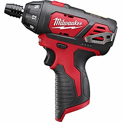 "Milwaukee 2401-20 M12 1/4"" Hex Screwdriver Bare Tool (Updated Model)"
