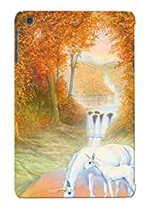 Crooningrose Anti-scratch And Shatterproof Autumn Morning Phone Case For Ipad Mini/mini 2/ High Quality Tpu Case
