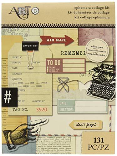 Momenta 25069 Art-C Ephemera Collage (131 Pack), Office Space, -