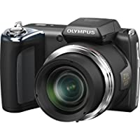 Olympus SP-620UZ 16MP Digital Camera with 21x Optical Zoom (Black) (Old Model)