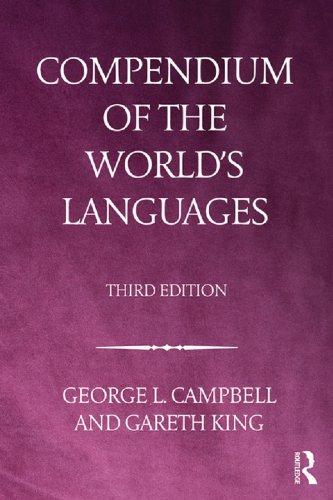 Download Compendium of the World's Languages Pdf