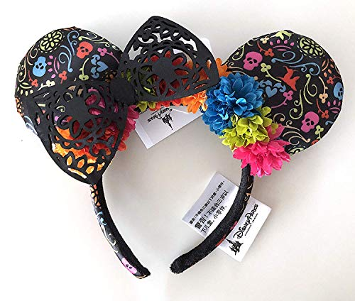 Disneyland Parks Coco Day of The Dead Mexico Dia de los Muertos Flower -