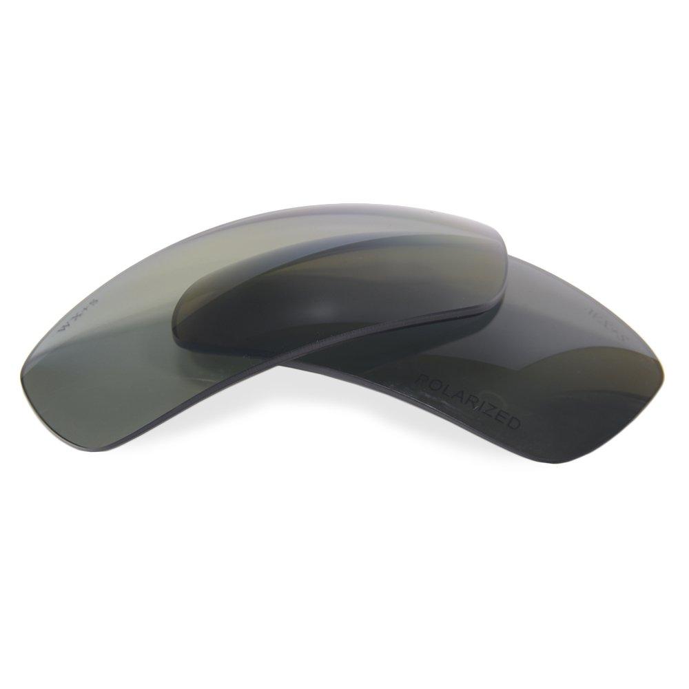 291ecb4e829 Amazon.com  Wiley X Slay Polarized Silver Flash Smoke Replacement Lenses  ACSLAP  Sports   Outdoors