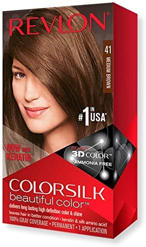 COLORSILK tinte Castaño Medio Nº 41 caja 1 ud: Amazon.es: Belleza