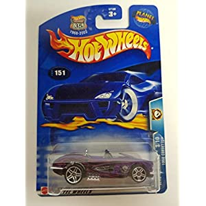 1958 Corvette Wastlanders 3/10 2003 Hot Wheels diecast car No. 151