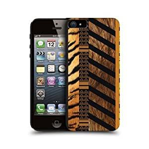 Tiger Fauna Collection Design Hard Back Case Cover For Apple iPhone 5