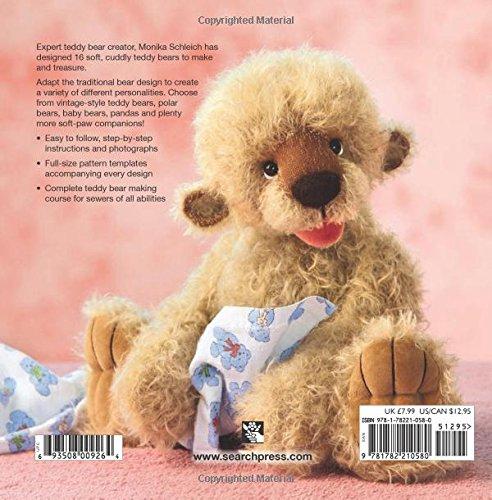 love to sew teddy bears monika schleich 9781782210580 amazon com