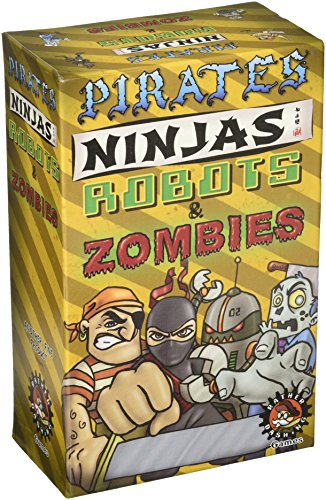 Rather Dashing Games Pirates, Ninjas, Robots & Zombies Board Game by Rather Dashing Games