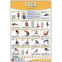 amazoncom yoga position poster