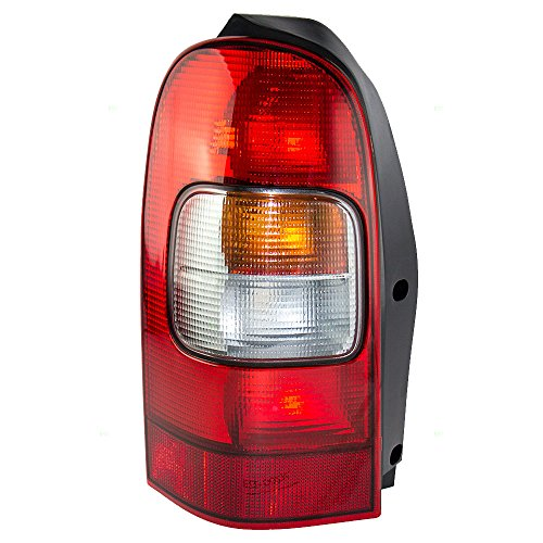 Chevrolet Sport Van (Drivers Taillight Tail Lamp Replacement for Chevrolet Oldsmobile Pontiac Van 10353279)