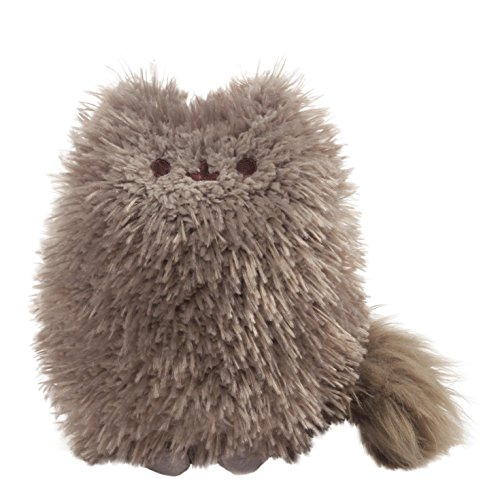 Little Chubbies Gift - GUND Pusheen's Little Brother Pip Plush Stuffed Animal, Dark Gray, 6.5""