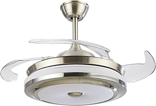 FINE MAKER 36 Inch Ceiling Fan Light and Remote Control