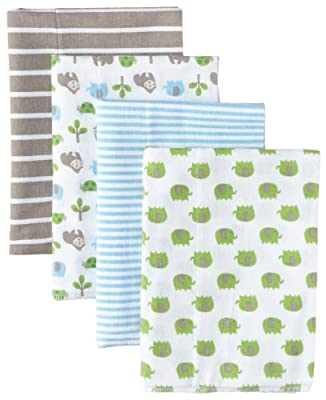 Gerber Baby Boys' 4 Pack Flannel Burp Cloths by Gerber Children's Apparel that we recomend individually.