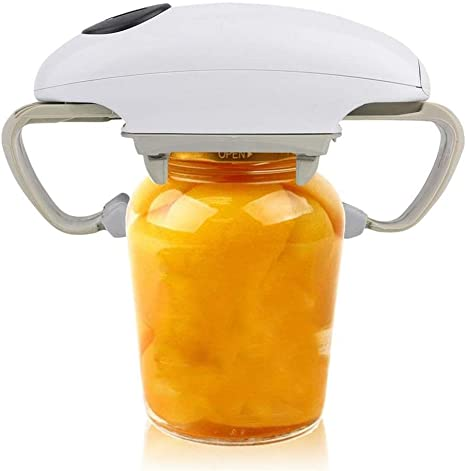 Automatic Can Opener Canned Food Electric Bottle Opener Canned Kitchen Gadget