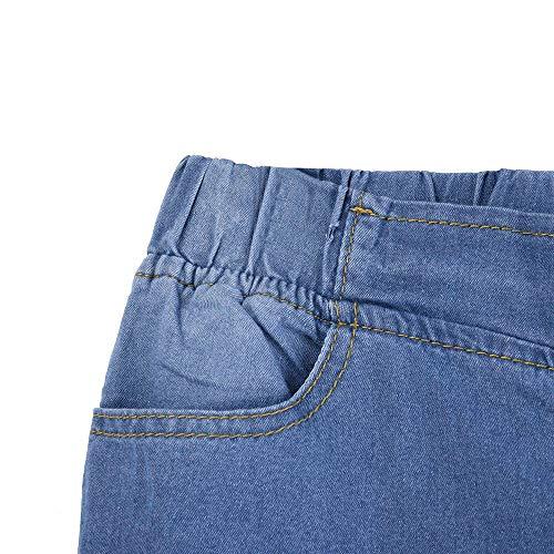 Donne Stretti Solido Sottile Slim Denim Sexy Alta Jeans Skinny Pantaloni Azzurro Lungo Stretch Italily Magro Tasche Quotidiano Vita dEOqd5