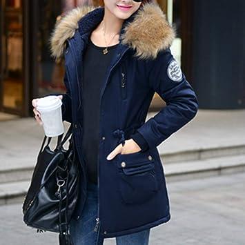 Amazon Com Pgojuni Womens Winter Warm Outerwear Hooded Drawstring