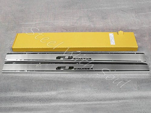 Door sill lining / Chrome cover / Scuff plate for TOYOTA FJ CRUISER 2006—2014