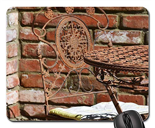 Iron Noble - Mouse Pad - Table Chair Garden Chair Design Wrought Iron Noble