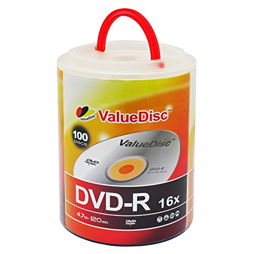 Value Disc DVD-R 16X 4.7GB 100