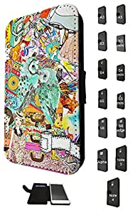1169 - Fashion Girly Needs Bags Shopping Love Owls Design Samsung Galaxy S6 Edge Fashion Trend TPU Leather Flip Case Full Case Flip Credit Card TPU Leather Purse Pouch Defender Stand Cover