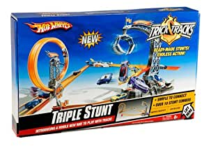 HOT WHEELS Trick Tracks Triple Stunt Starter Set