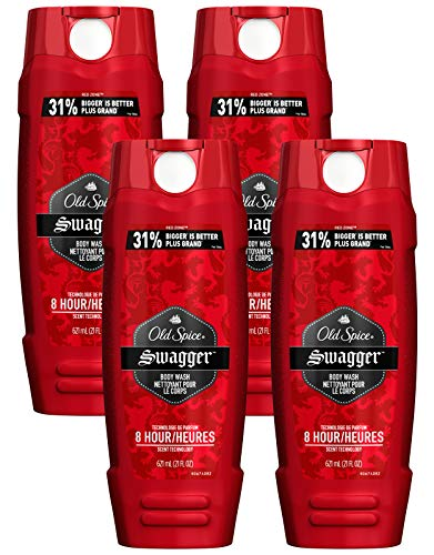 (Old Spice Swagger Body Wash - Red Zone - 21 oz, 4 Pack, 84 oz)
