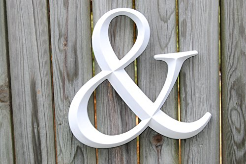 Near & Deer Ampersand Sign Large Wedding Gallery Wall Decor Photo Prop, 1