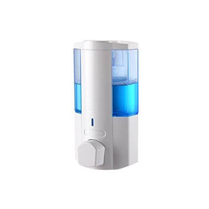 Dispensador de jabón HL pared Champú de ducha Caja de gel manual mano casero de cocina