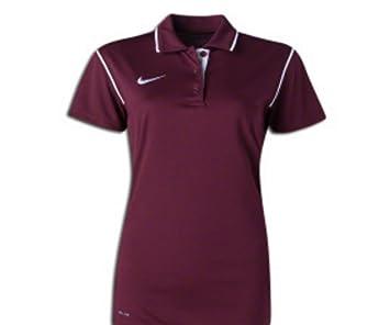 Nike Mujer Gung-ho Polo Rojo/Blanco M: Amazon.es: Deportes y aire ...