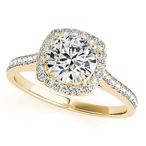 MauliJewels 1/2 Ct. Ttw Halo Engagement Diamond Ring for sale  Delivered anywhere in Canada
