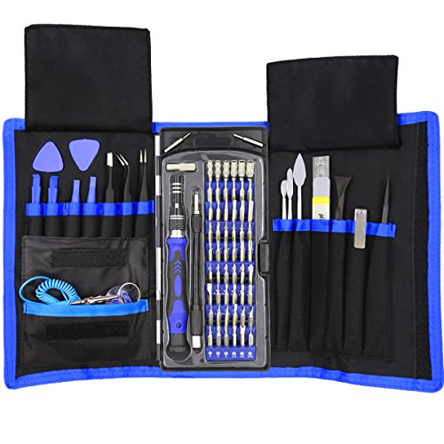 XOOL 80 in 1 Precision Screwdriver Set with Magnetic Driver Kit