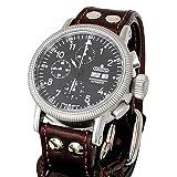 Aristo 3H123 Valjoux 7750 Automatic Chronograph Aviator Watch