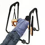 Apontus Power Tricep Dip Stand Station (Push Up Straps)