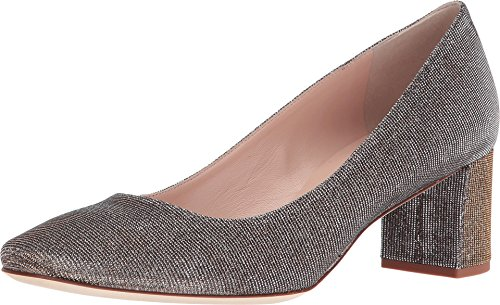 Kate Spade New York Women's Dolores Bronze Lurex Pump 10 (Kate Spade Patent Leather Shoes)