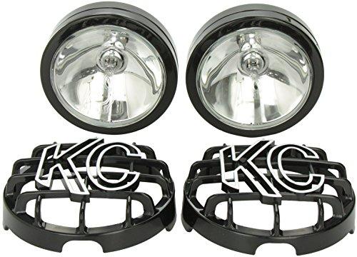 KC HiLiTES 121 SlimLite Black 130w Spot Beam Light System