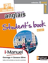 Anglais - Student's book 2nde Bac Pro